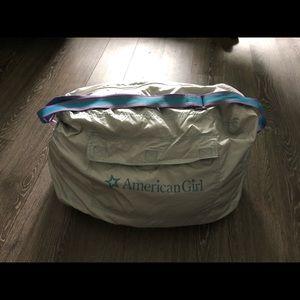 American Girl TWO sleeping bags for GIRL